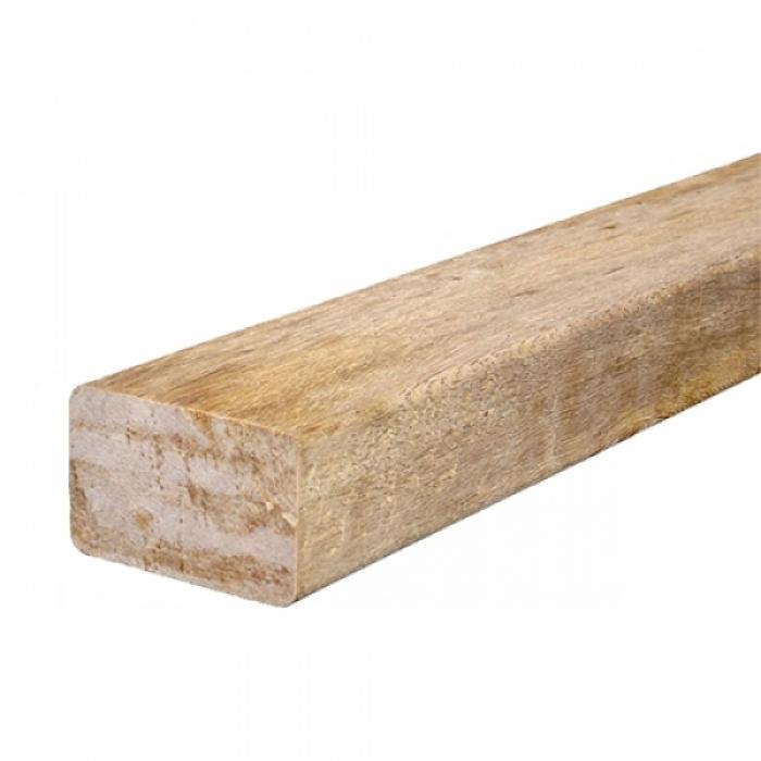 Super EXZO | Azobe balken geschaafd 45 x 67 mm dik - 220 cm lengte (4,75 YE-04
